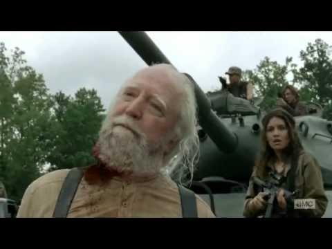 The Walking Dead Hershel Death Scene