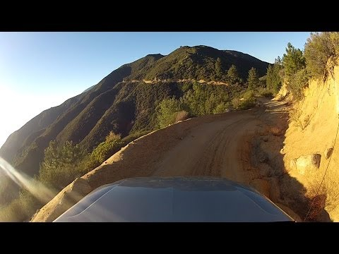 North Main Divide to Indian Truck Trail near Santiago Peak S