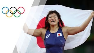 Japan's Kawai wins women's freestyle 63kg gold