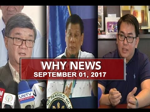 UNTV: Why News (September 01, 2017)