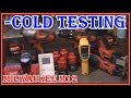 MILWAUKEE TOOLS - M12  LITHIUM BATTERY COLD WEATHER TESTING