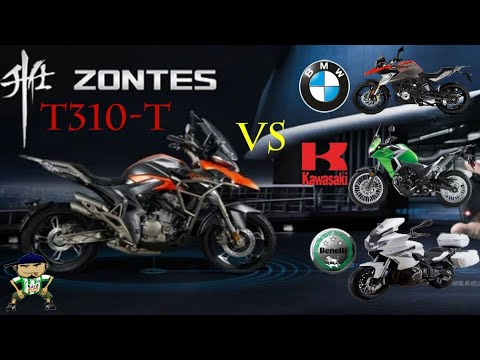 Zontes T310-T .New Rival For BMW 310 , Versys 300 , Benelli Trk302