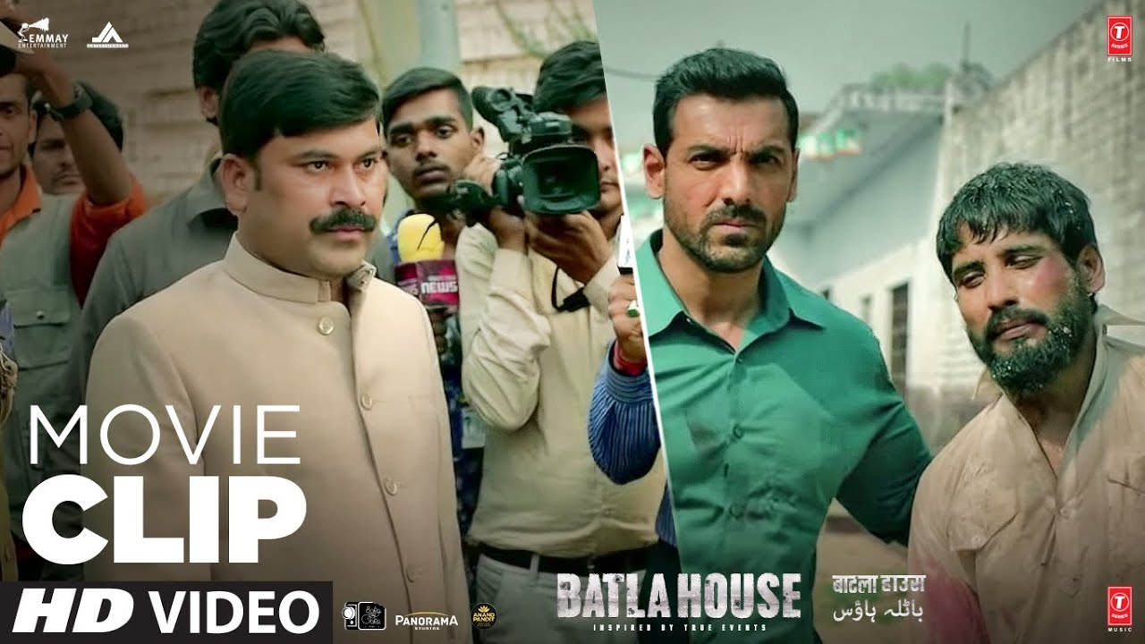 Download Gadi Reverse Kyu Nhi Ho Rhi? | Batla House | Movie Clip | John Abraham,Mrunal Thakur  |Action  Scene