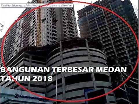 BANGUNAN PALING MEWAH KOTA MEDAN TAHUN 2018. KOTA LAIN JANGAN IRI