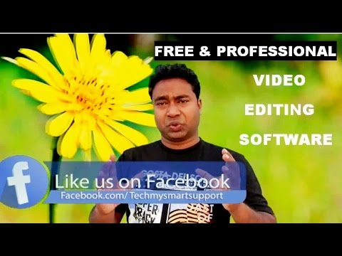 Free Professional Video Editing Software !! Complete Tutorial & Guide