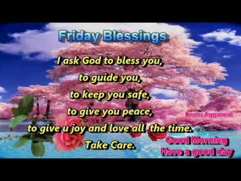 Friday Blessings Youtube