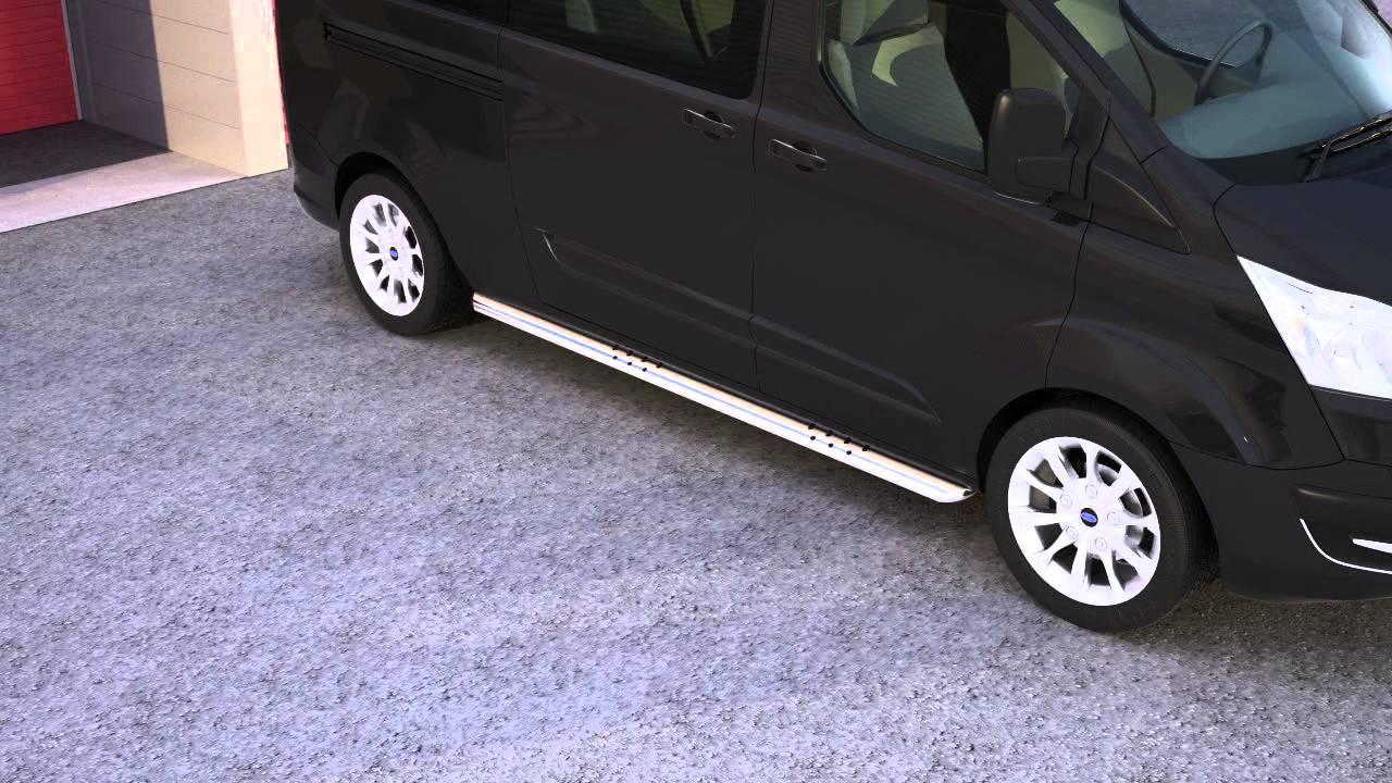 16t4051 ford transit custom tourneo custom oval side bar. Black Bedroom Furniture Sets. Home Design Ideas