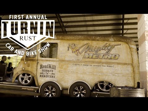 TURNIN RUST FIRST ANNUAL CAR & BIKE SHOW //4K// MELTING MAN
