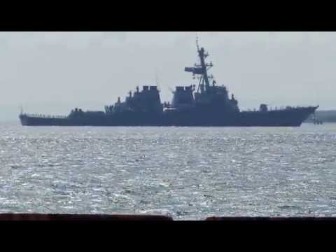 米海軍 US Navy DDG56 John S.McCain   Welcome home