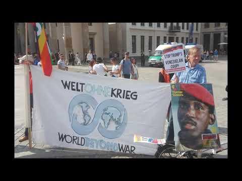 Berlin: Tango for Venezuela and for a World Beyond War