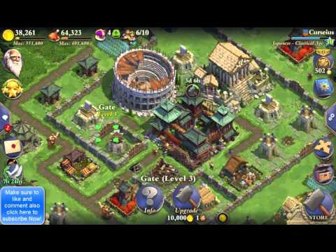 DomiNations | Defense Tips And Tricks For DomiNations (Classical Age)