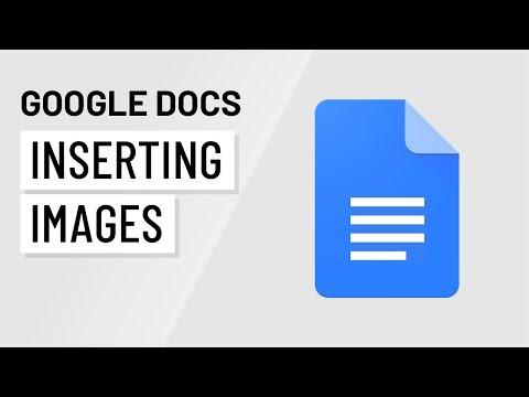 Google Docs: Inserting Images