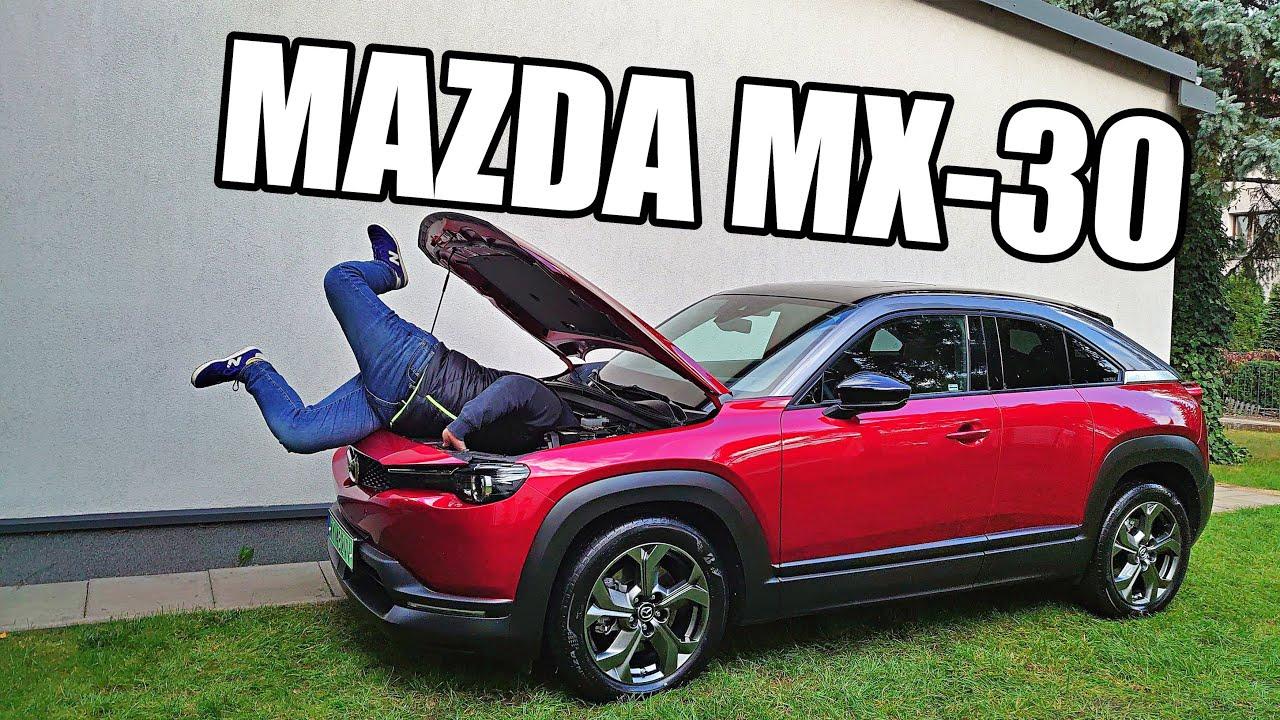 Mazda MX-30 EV - pokaż kotku co masz w środku (PL) - test i jazda próbna
