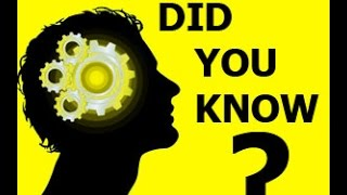 Did you know these amazing facts