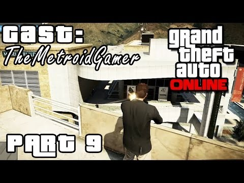 GTA ONLINE Part 9 - Episches Battle mit TheMetroidGamer (HD) / Lets Play Grand Theft Auto Online