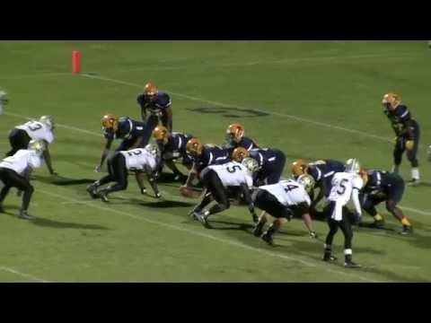 Rocky Mount High School Gryphons Football - Game Highlights vs. Burlington Williams HS - 11/13/15