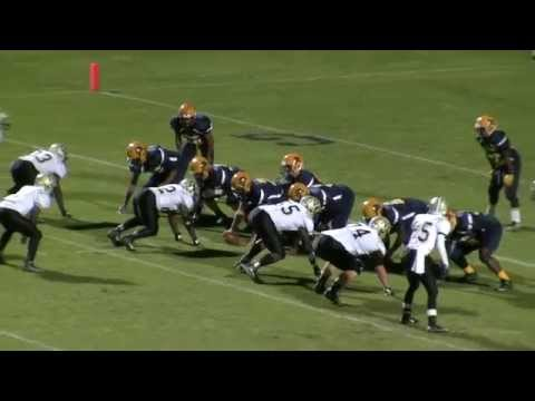 Rocky Mount High School Gryphons Football - Game Highlights Vs. Burlington Williams HS - 11/13/15