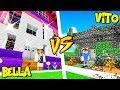 chŁopak vs dziewczyna w minecraft vito vs bella