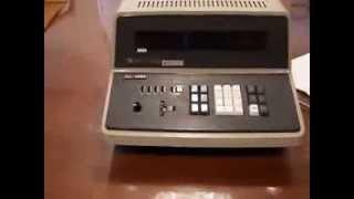 Casio Commodore AL-1000 Nixie Tube Calculator.