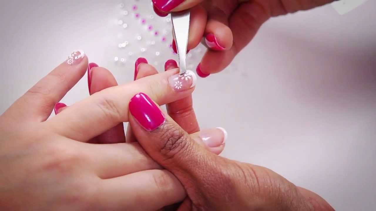 Glam It up with Kiss Everlasting Gel Polish & Nail Art - YouTube
