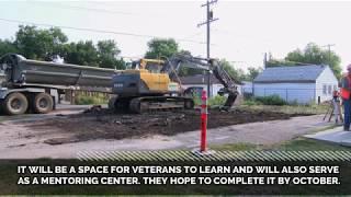 Grace Home Veterans Center breaks ground for garage