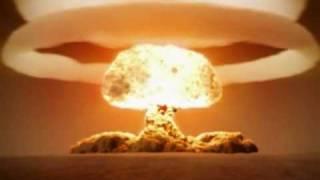 氢弹爆炸的震撼录像