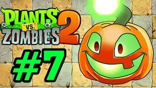 Plants Vs Zombies 2 - Hoa Quả Nổi Giận 2: ĐÈN LỒNG BÍ NGÔ (Jack O Lantern) #7