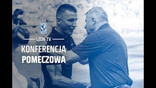 Konferencja pomeczowa Ivan Djurdjević. Śląsk Wrocław - Lech Poznań 0:1