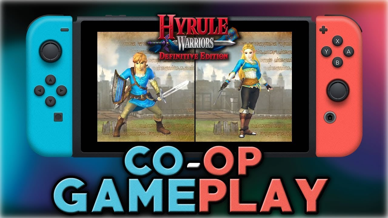 Hyrule Warriors Definitive Edition Co Op Gameplay Nintendo Switch Youtube