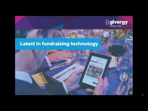 Fundraising Technology For Your Charity Event - Webinar (AU) | Givergy