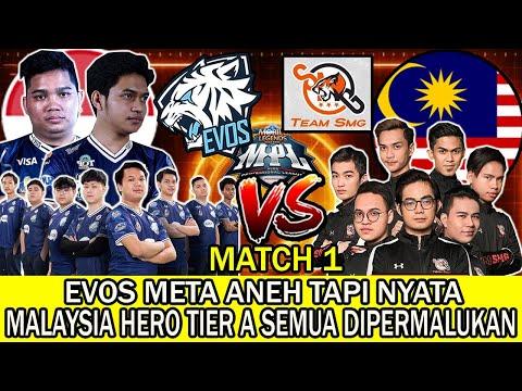 EVOS VS SMG PRA MPL S7. EVOS META ANEH TAPI NYATA, MALAYSIA HERO TIER A SEMUA DIPERMALUKAN