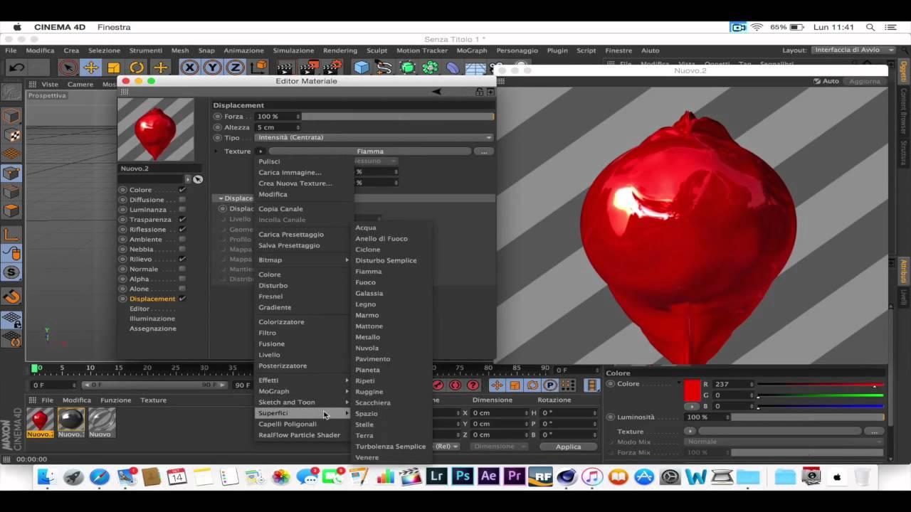 creating apple logo 3d wallpaper - YouTube