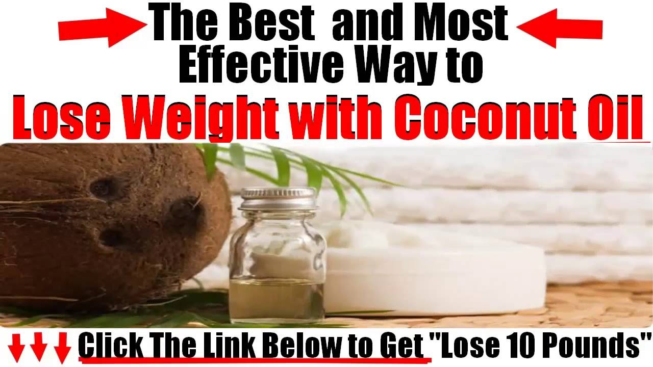 how to lose weight with coconut water