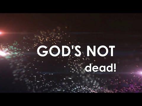 God's Not Dead with Lyrics (The Newsboys)