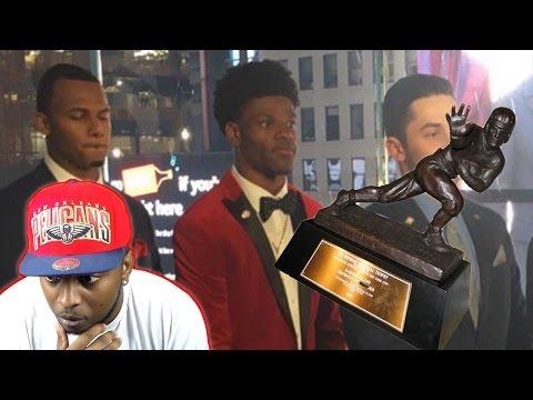 LAMAR JACKSON WINS THE HEISMAN TROPHY!!! LAMAR JACKSON HIGHLIGHT REEL!!! NCAA FOOTBALL 14 GAMEPLAY