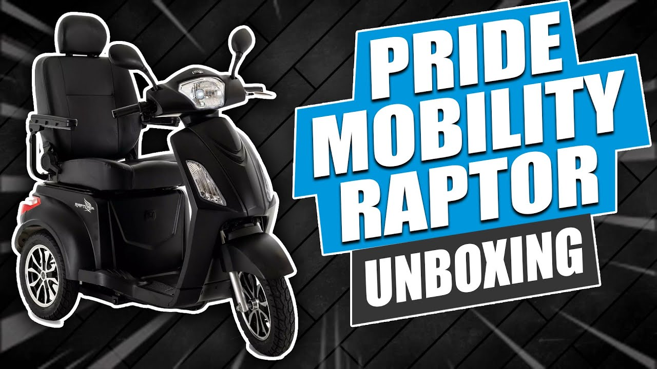Pride Mobility Raptor Unboxing Video