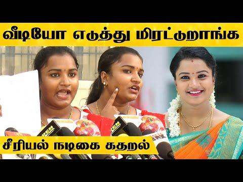 என்ன செம அடி அடிச்சி துன்புறுத்துறாங்க - சீரியல் நடிகை ஜெனிபர் கதறல் | Sembaruthi Serial Jennifer