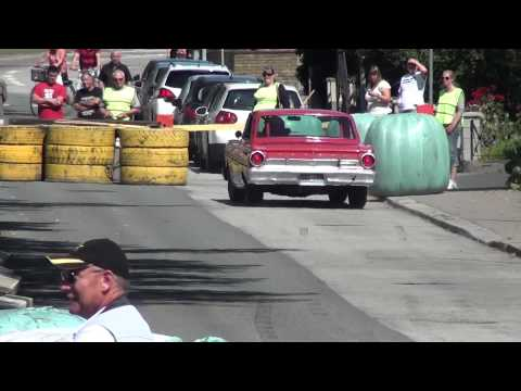 FORD FALCON SPRINT-64 ENDS IN A CRASCH at Karlshamns classic car race