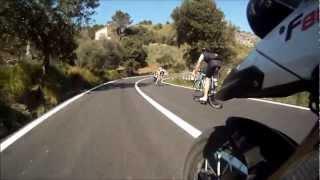 Kurvenspass 2012 - Mallorca - Road from Lluc to Pollenca