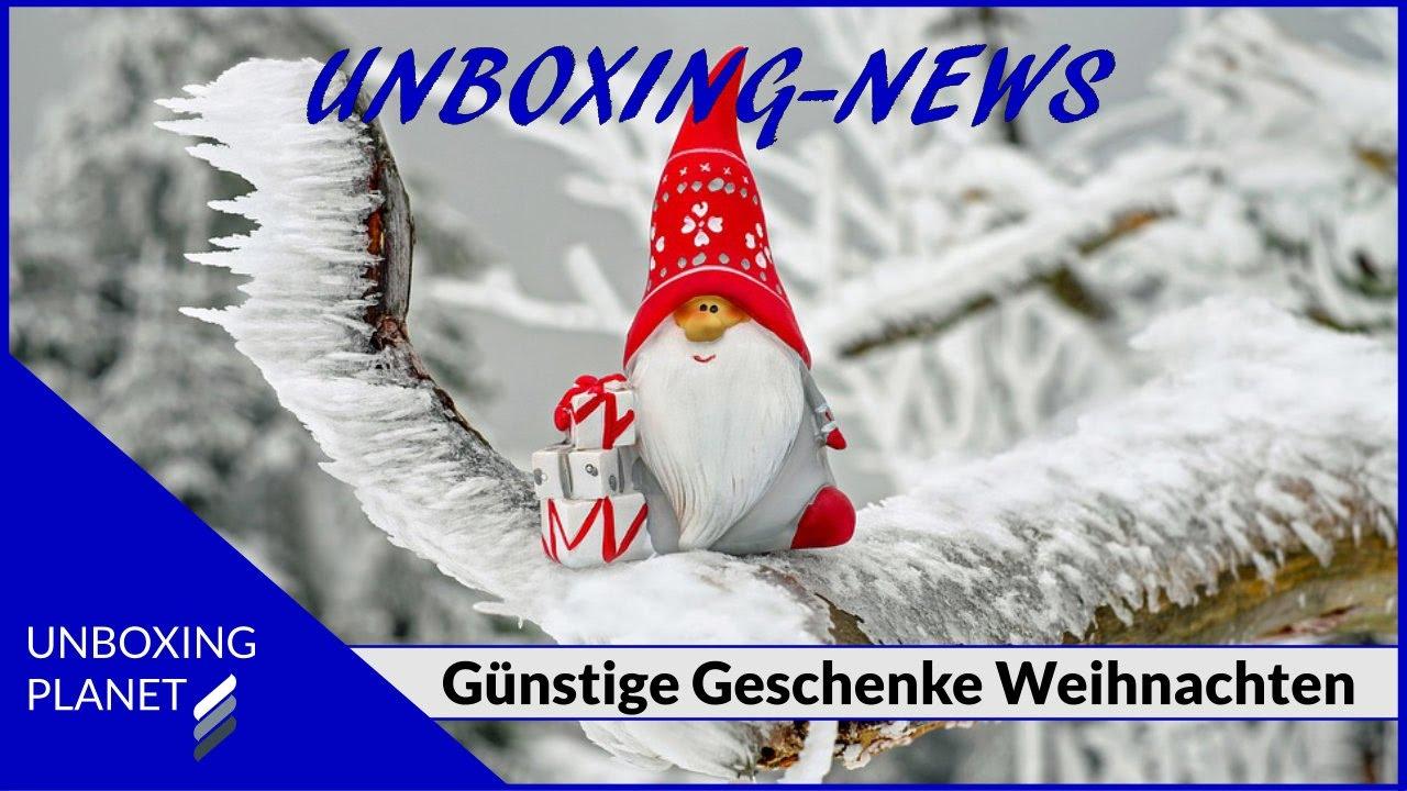 Günstige Geschenke unter 50 Euro für Weihnachten - Unboxing News ...