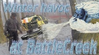 Winter mayhem @ Battle Creek paintball