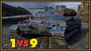 Object 907 - Epic Ending - 1 VS 9 - World of Tanks Gameplay