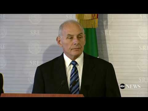 Homeland Security chief John Kelly: There will be 'no mass deportations'