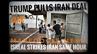 IRAN DEAL PULLED/WITHIN MINUTES ISREAL ATTACKS IRAN/ALL US AIRCRAFT GROUNDED
