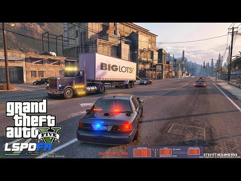 GTA 5 LSPDFR 0.3.1 - EPiSODE 216 - LET'S BE COPS - UNMARKED SAHP PATROL (GTA 5 PC POLICE MODS)