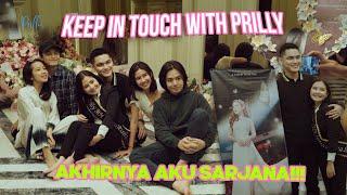 Download lagu Detik Detik Jadi Sarjana Di Surprisein Orang Orang Tersayang Keep In Touch With Prilly