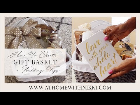 how-to-create-a-honeymoon-basket-|-easter-&-gift-basket-tips-|-plus-wedding-tips
