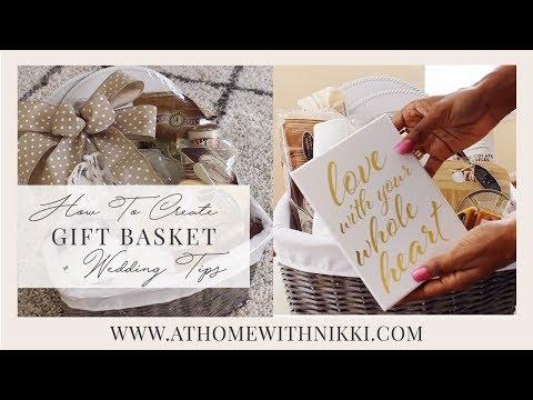 How To Create a Honeymoon Basket | Easter & Gift Basket Tips | PLUS Wedding Tips