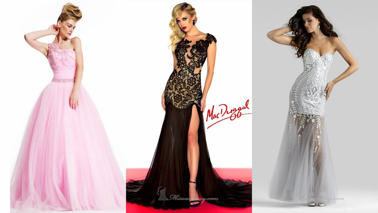 18 Stunning Evening Gowns - YouTube