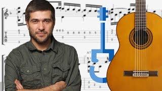 Сплин – РОМАНС на гитаре / Фингерстайл / Ноты и табы